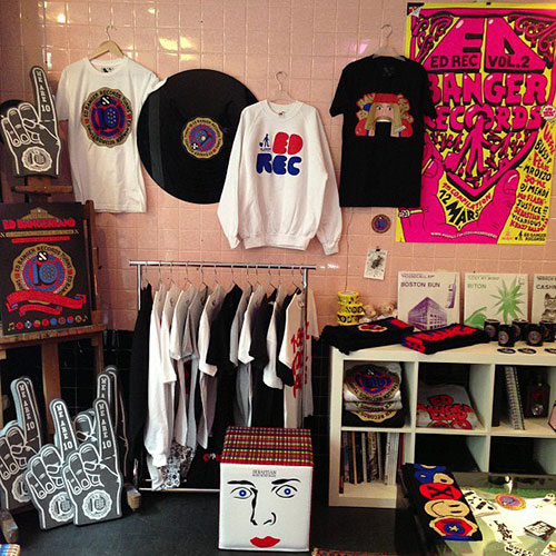 Boutique Shop Ed Burger Records