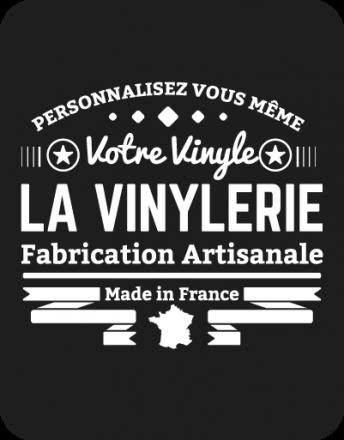 logo La Vinylerie pour personnalisez votre vinyle de fabrication française