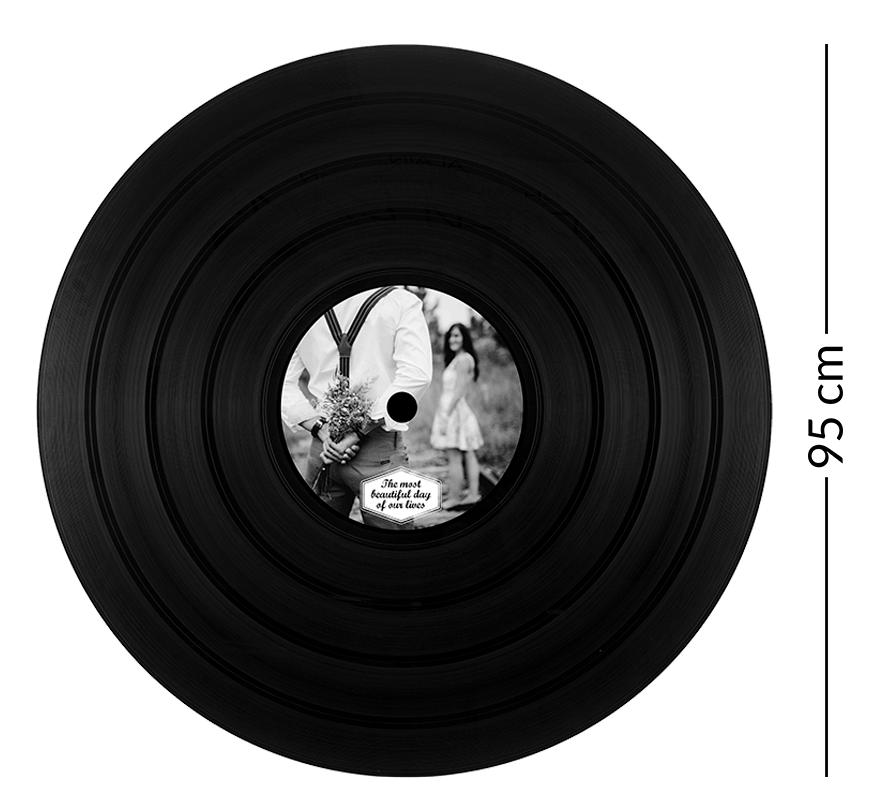 dimension du disque vinyle géant 95 tours