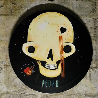 Gand Vinyl customize par Artiste Pedro