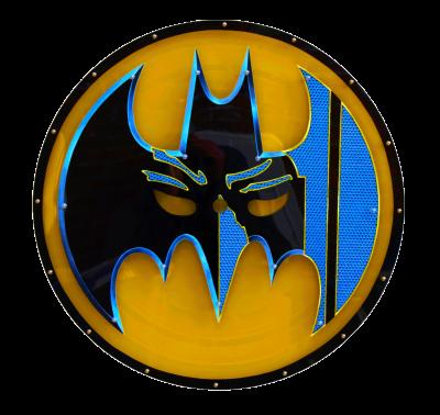 design de Batman sur grand Vinyl par artiste Eric Berger