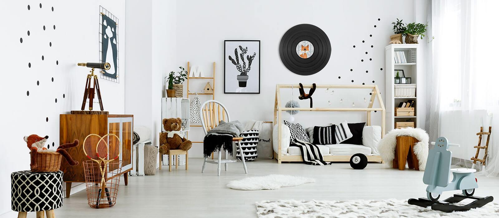 Vinyle pour une décoration originale dans une chambre d'enfant