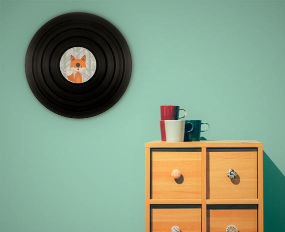 Le disque vinyl personnalisé, une décoration originale et unique pour votre intérieur