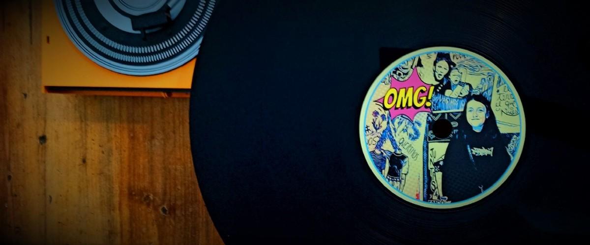 disque vinyle décoration 1.1